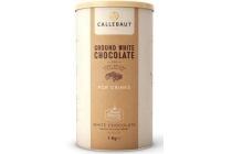 callebaut ground white chocolate poeder