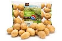 vastkokende aardappelen