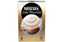 nescafe oploskoffie latte macchiato