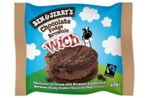 chocolate fudge brownie wich