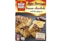 koopmans cake specials banaan chocolade