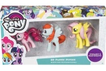 my little pony 3d figuren