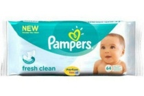 pampers babydoekjes fresh clean
