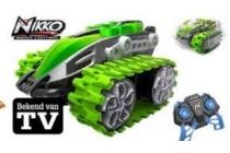 nikko nanotrax rc groen