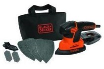 black en decker 120w mouse schuurmachine 3 grijpzones