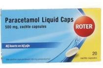 roter paracetamol liquid caps