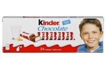 kinder chocolade