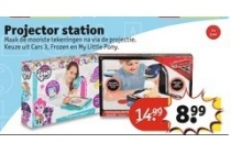 projecter station nu eur8 99 per stuk
