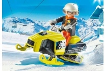 playmobil sneeuwscooter 9285