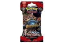 pokemon tcg sun en moon crimson invasion boosterpack