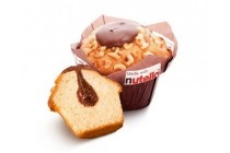 molco muffin made with nutella