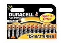 duracell plus power aa batterijen 12 stuks