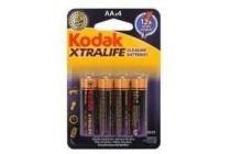 kodak xtralife aa batterijen