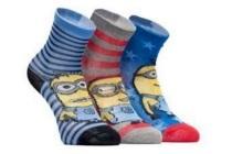 minion sokken 3 paar