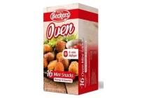 beckers oven mini snacks