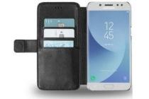 azuri wallet case voor samsung j3 2017 zwart