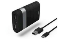 hama powerbank joy 7 800 mah zwart