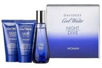 davidoff cool water night dive woman geschenkset