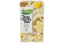 pickwick joy of tea ginger spices