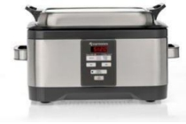 espressions slowcooker duo sous vide 5 5 liter