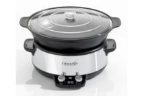 crock pot digital saute slowcooker cr011 6 liter