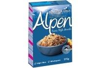 suikervrije alpen muesli