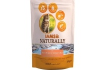 iams naturally cat adult zalm en rijst