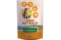 iams naturally cat adult lam en rijst