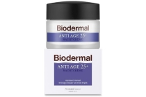 biodermal nachtcreme anti age 25