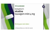 leidapharm nicotine kauwgom 4mg