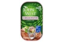 john west kabeljauw