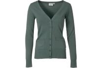 vest actual basic groen