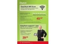 easytech wifi scan op locatie