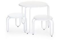childhome ironwood tafel rond 2 stoeltjes