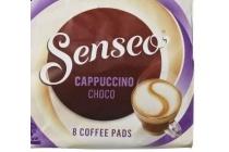 douwe egberts senseo cappuccino choco coffee pads