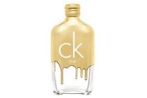 calvin klein ck one gold