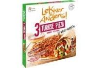 lekker en anders turkse pizza
