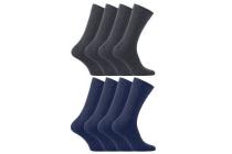 4 pack business sokken