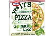 dr oetker yes it s pizza met spinaziebodem