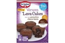 dr oetker verwen lava cakes
