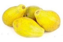 eetrijpe papaya