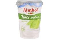 almhof yoghurt roer naturel