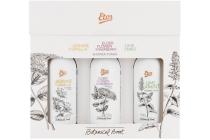 etos botanical boost cadeauset mini