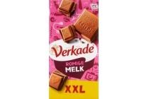 verkade xxl romige melkchocoladereep