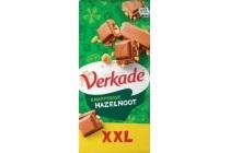verkade xxl knapperige hazelnoot chocoladereep