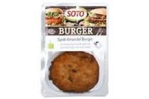 spelt amandel burger