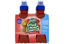 teisseire fruitshoot roodfruit 4 pack