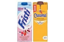 chocomel of fristi houdbaar