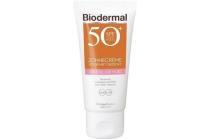 biodermal spf 50 zonnecreme voor het gezicht