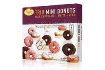 trio mini donuts